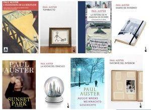 Libros de Paul Auster. Portadas de otros países.