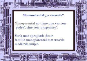 monomarental-monoparental